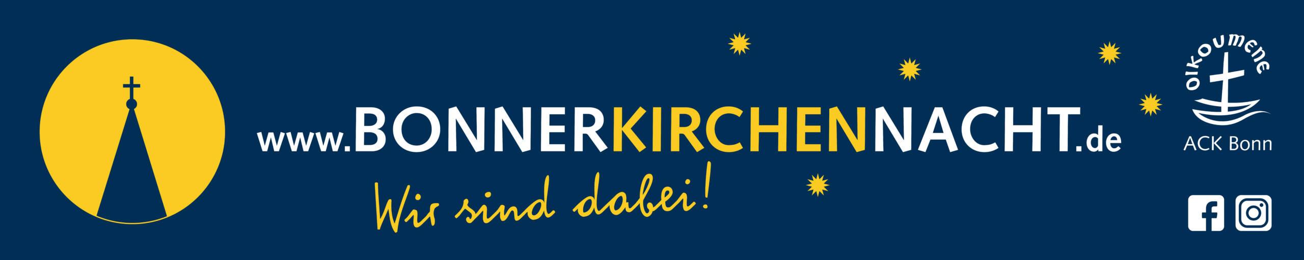 Banner der Kirchennacht
