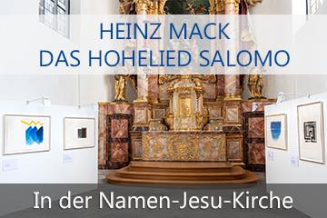 """Plakat Heinz Mack """"Das Hohelied Salomo"""""""